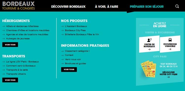 Bordeaux - Office du tourisme